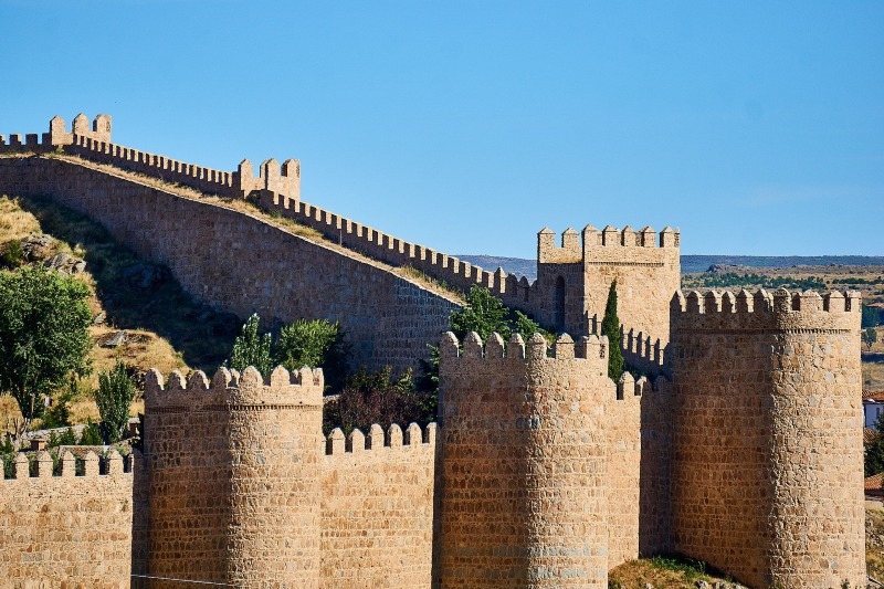 Avila Walls and towers