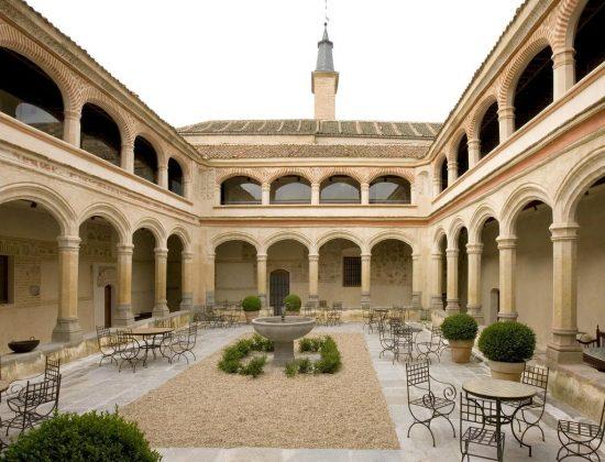 San Antonio El Real restaurant in Segovia