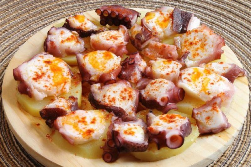 Pulpo a Feira (octopus)