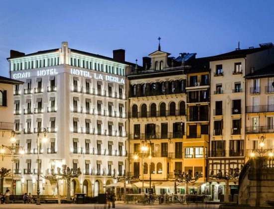 Gran Hotel La Perla: Beautiful and historic 5-star hotel in the heart of Pamplona