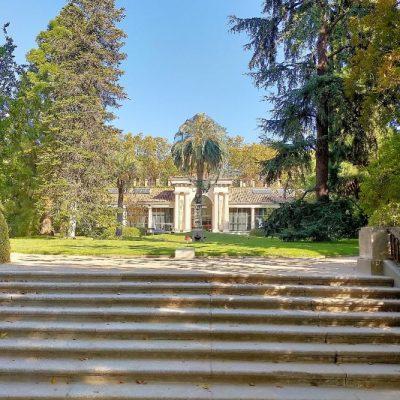 Madrid botanical gardens