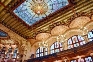 palau de la musica catalana stained glass