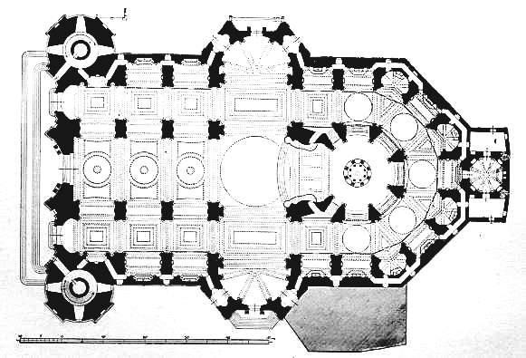 plan of Cadiz Cathedral
