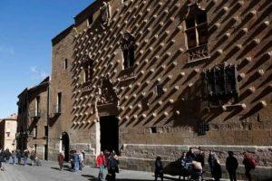 Casa de las conchas in Salamanca Spain