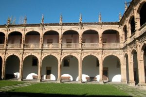 Courtyard Fonseca Colegio Mayor in Salamanca