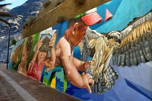 Street art in Puerto de Santiago, Tenerife