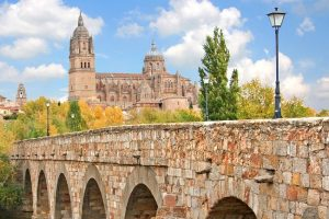 Views of Salamanca from Roman bridge