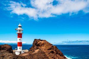 Lighthouse in Punta de Teno, Tenerife