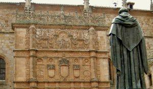Fray Luis de Leon statue Universidad de Salamanca
