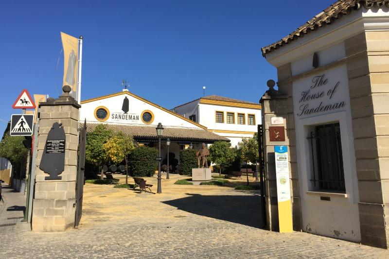 Sandeman Winery in Jerez