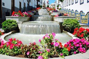 Fountains in Frigas, Gran Canaria
