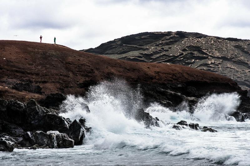 Waves in Lanzarote