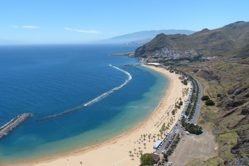 Las Teristas beach in Tenerife