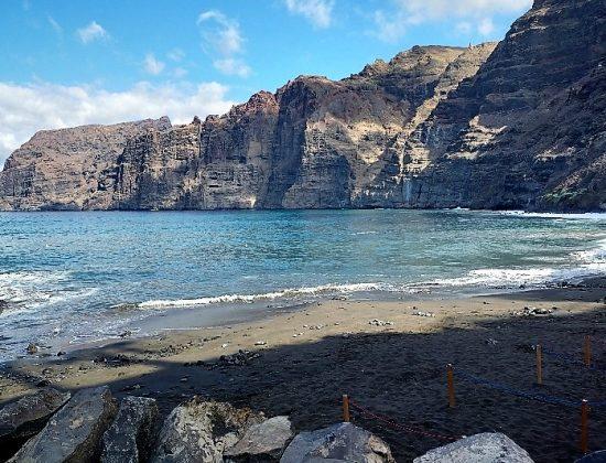 Los Gigantes cliffs in Tenerife