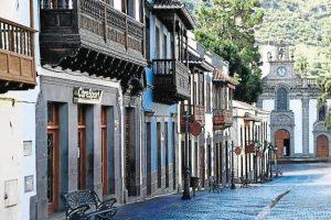 Main street in Teror, Gran Canaria