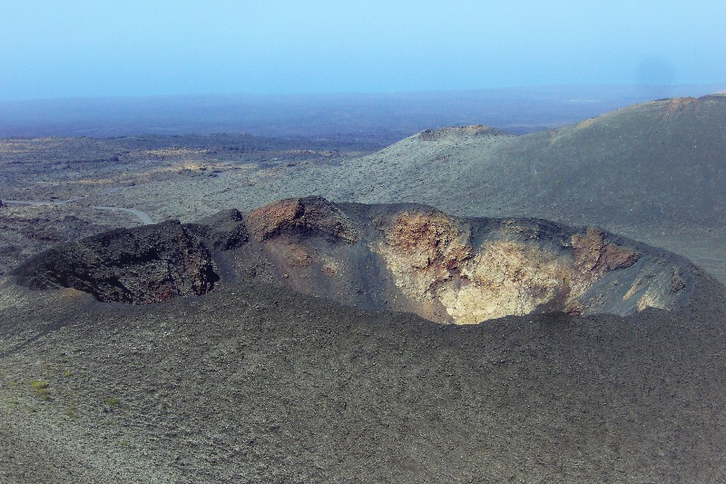 Crater of the Timanfaya