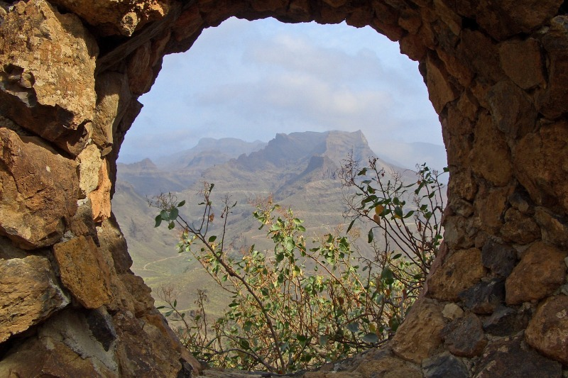 View point in Gran Canaria