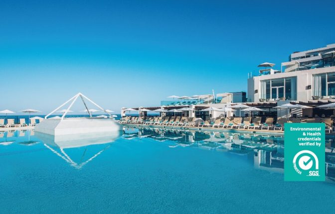 Swimming pool at the Iberostar bouganville