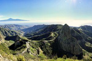 Landscape of La Gomera