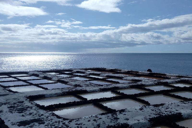 alinas de Fuencaliente in La Palma