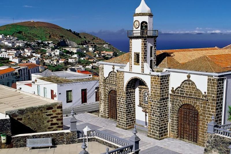 Church inValverde-El Hierro