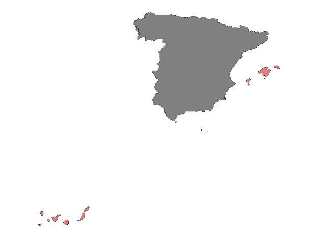 canary islands and balearic islands