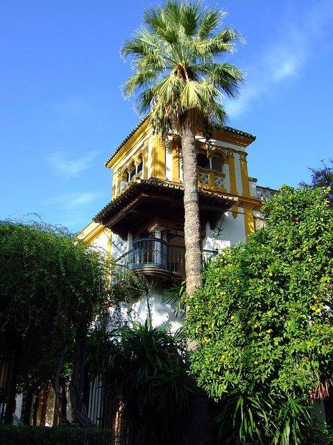 Santa cruz neighborhood Seville