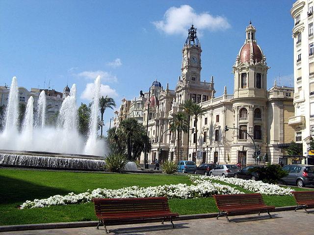 Plaza del Ayuntamiento Valencia