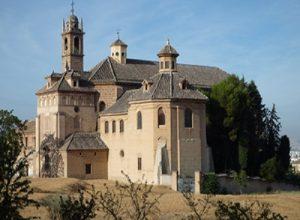 Exterior Cartuja monastery in Granada