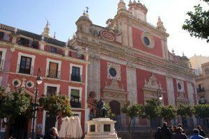 El Salvador in Seville church in seville