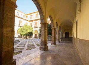 Courtyard San Juan de Dios Granada