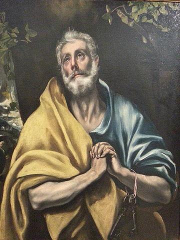 lagrimas de san pedro el greco