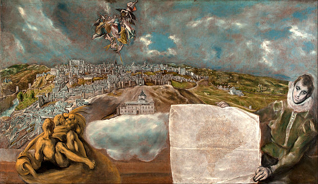 view and plan of toledo el greco