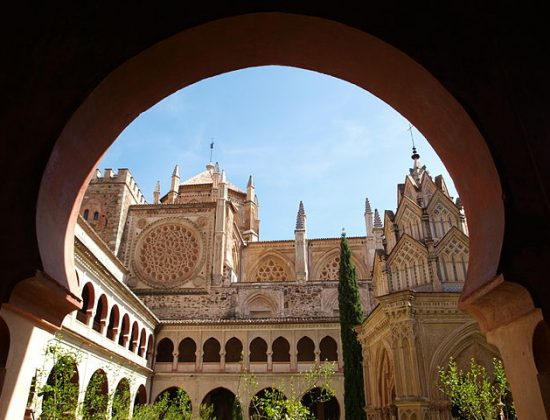 The spectacular Monastery of Guadalupe in Cáceres