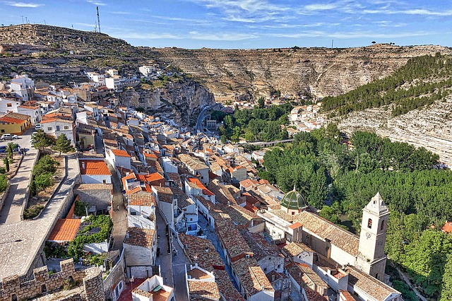 Alcala del Jucar village