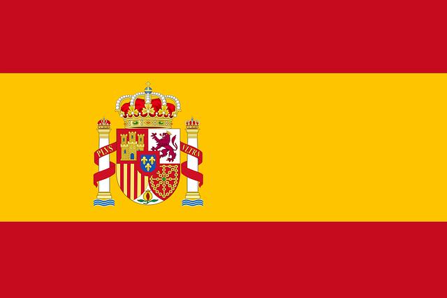 current spanish flag