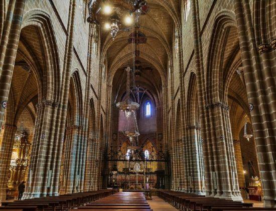 Pamplona Cathedral. Santa María la Real