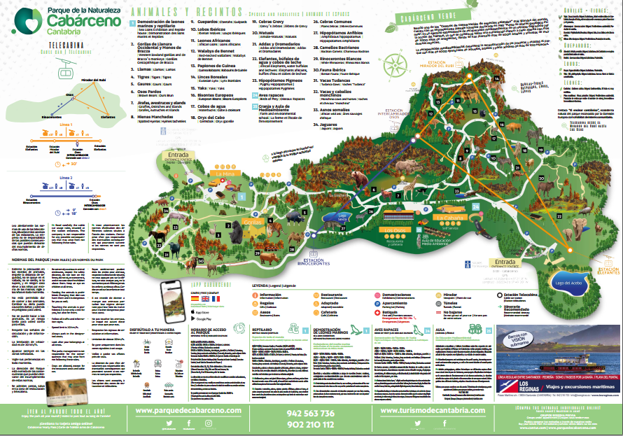 cabacerno park map 1