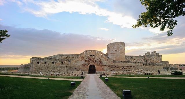 Castle in Zamora