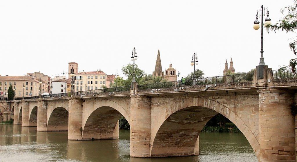 The Stone bridge in Logroño, Rioja