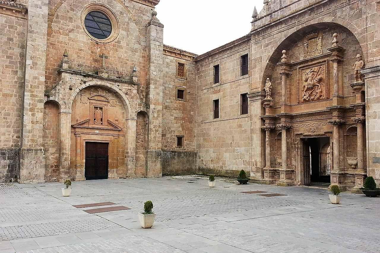 Yuso monastery in San Millan de la Cogolla